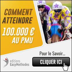 Comment Atteindre 100 000 euros au Pmu